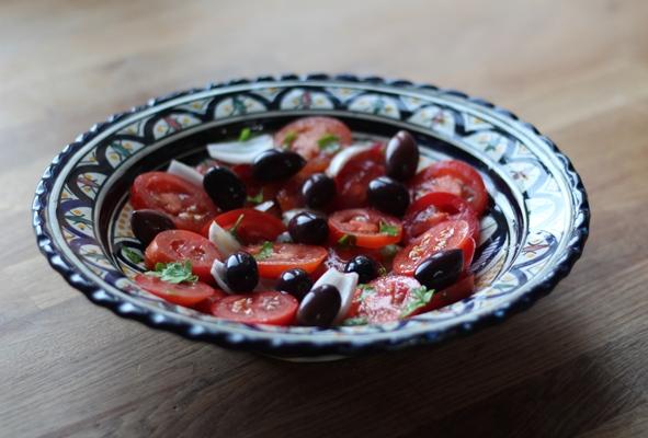 Domata salata – Græsk tomatsalat