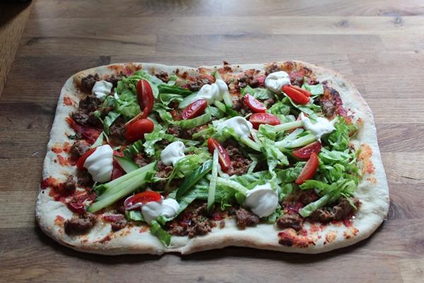 Ægte tyrkisk pizza – Lahmacun