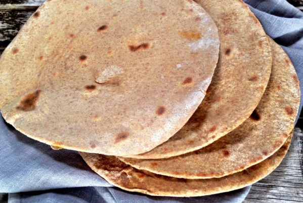 Chapati – Roti – Mellemøstlige fladbrød
