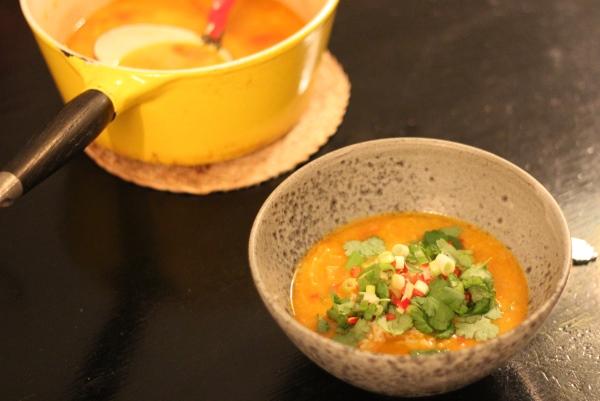 Mulligatawny suppe – Indisk karrysuppe med kokosmælk