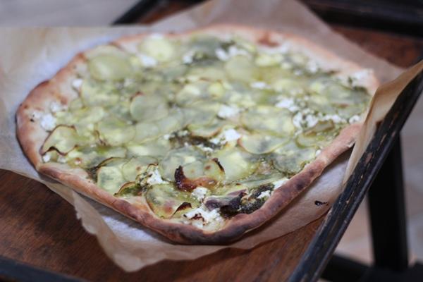 Pizza Bianco con patate